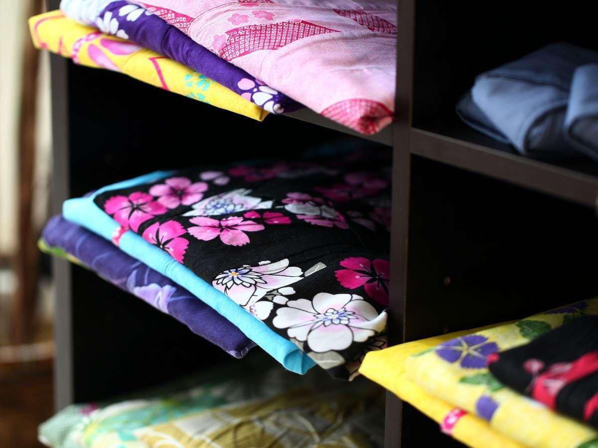 【浴衣】色鮮やかな浴衣を種類豊富にご用意しております。