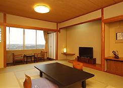 遥か英虞湾を見晴らす…海側和室・和洋室