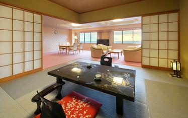 写真:備長炭いやしのルーム|スイートルーム