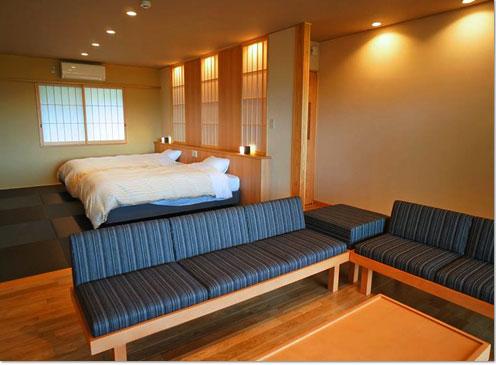ひのき-HINOKI- - - -和モダンテイストの半露天付客室