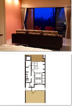ゆずり葉-YUZURIHA- - - -南仏スタイルの半露天風呂付き客室