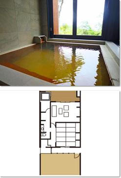 もみじ-MOMIZI- - - -古民家風-和の匠の半露天風呂付き客室