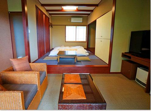 かりんKARIN- - - - アジアンテイストの半露天風呂付き客室