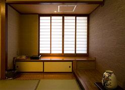 写真:当館で一番広々とした和室懐かし館