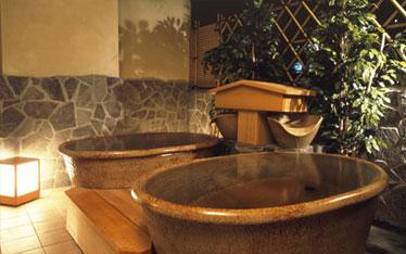 写真:貸切露天風呂「とうき」