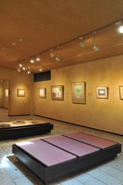 写真:片岡鶴太郎美術館