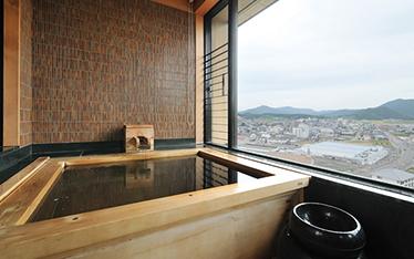 写真:展望風呂付ツイン